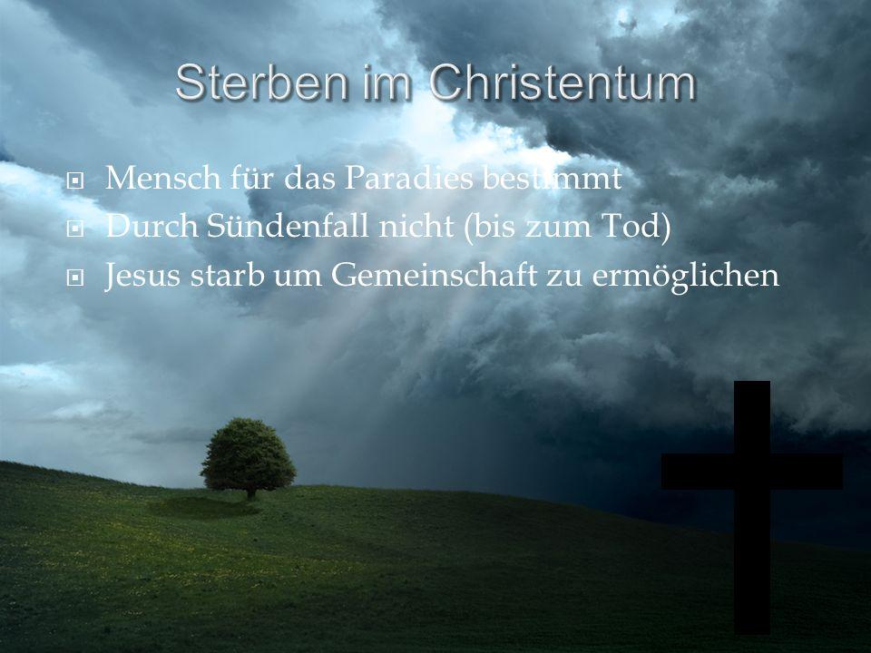 Sterben im Christentum
