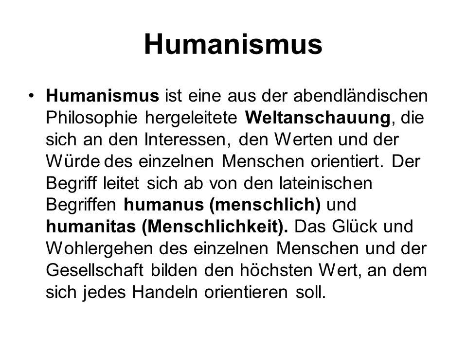 Humanismus