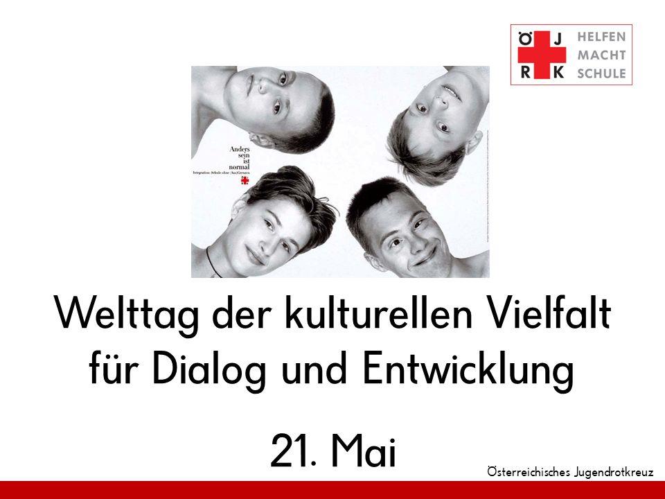 Welttag der kulturellen Vielfalt für Dialog und Entwicklung