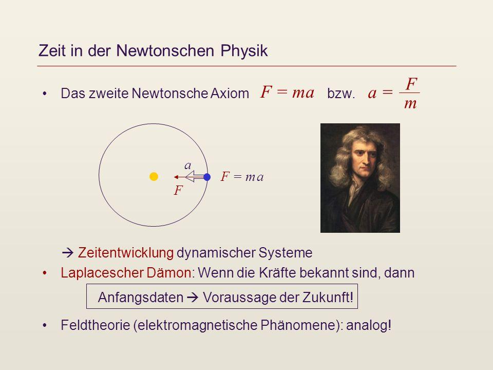 Zeit in der Newtonschen Physik
