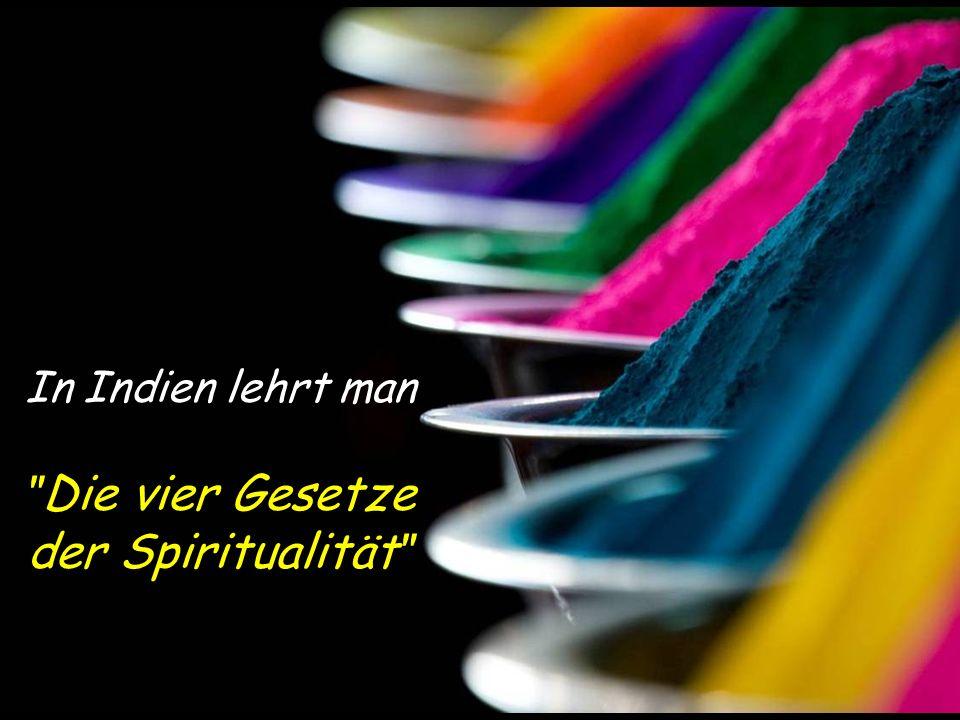 Die vier Gesetze der Spiritualität