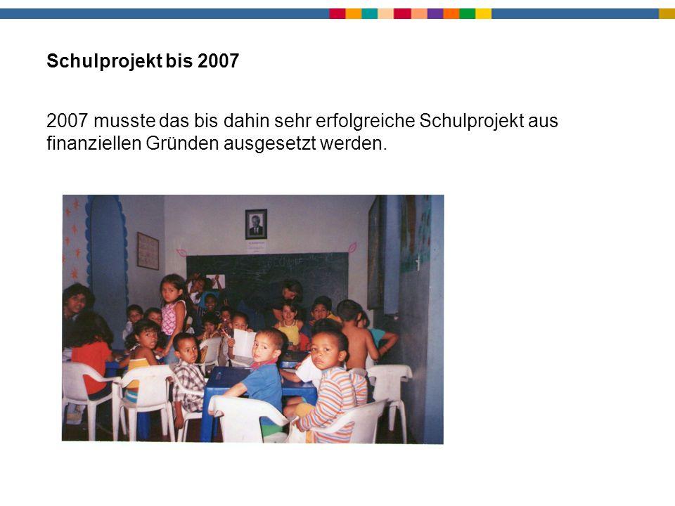 Schule bis 2007 Schulprojekt bis 2007.