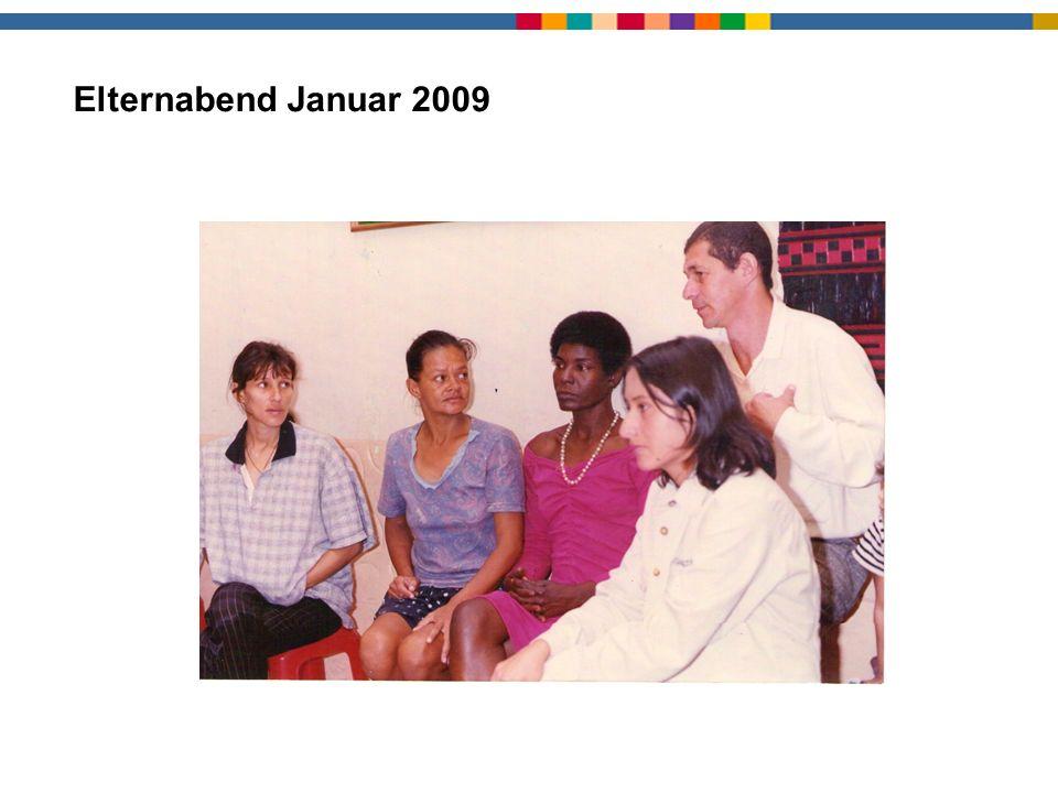 Elternabend1 Elternabend Januar 2009