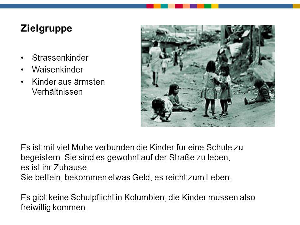 Zielgruppe Strassenkinder Waisenkinder