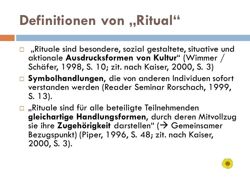 """Definitionen von """"Ritual"""