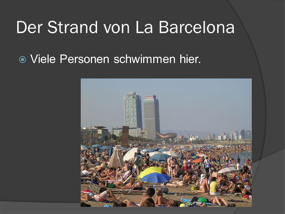 Der Strand von La Barcelona