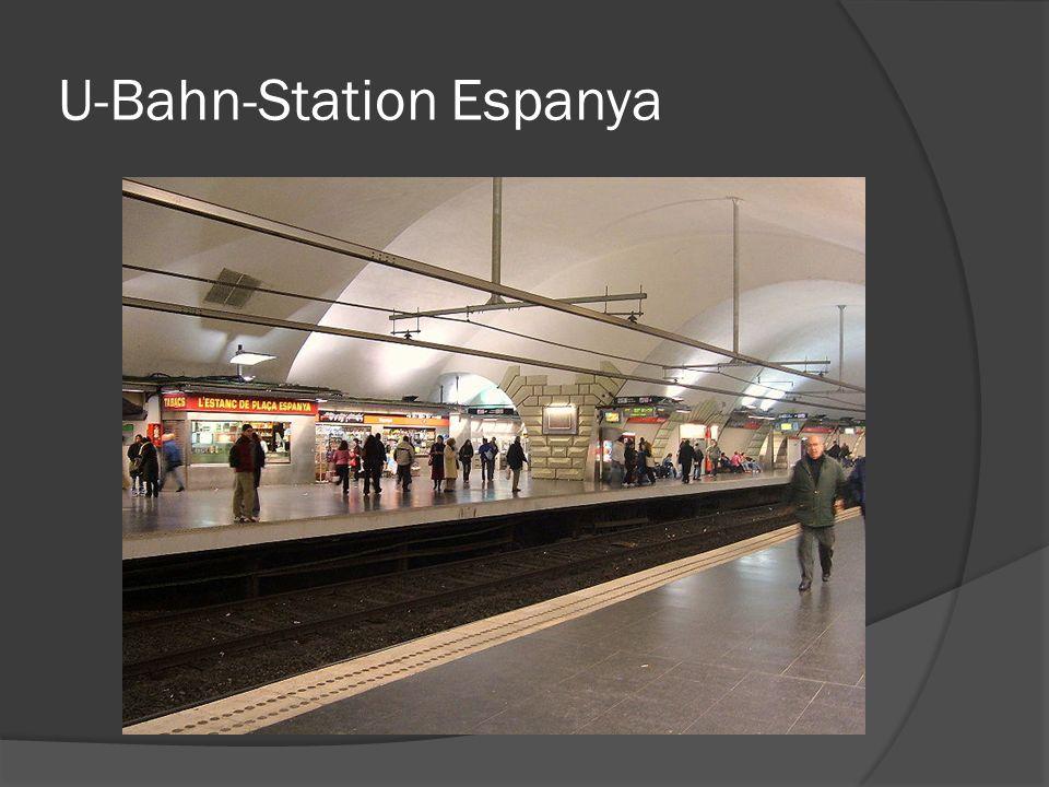 U-Bahn-Station Espanya
