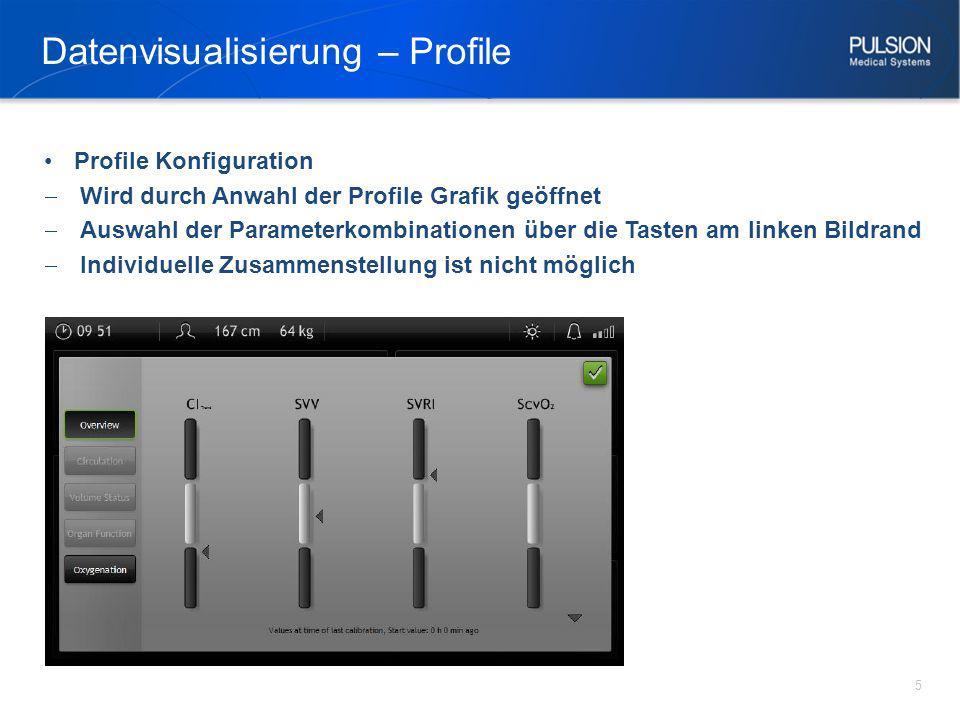 Datenvisualisierung – Profile