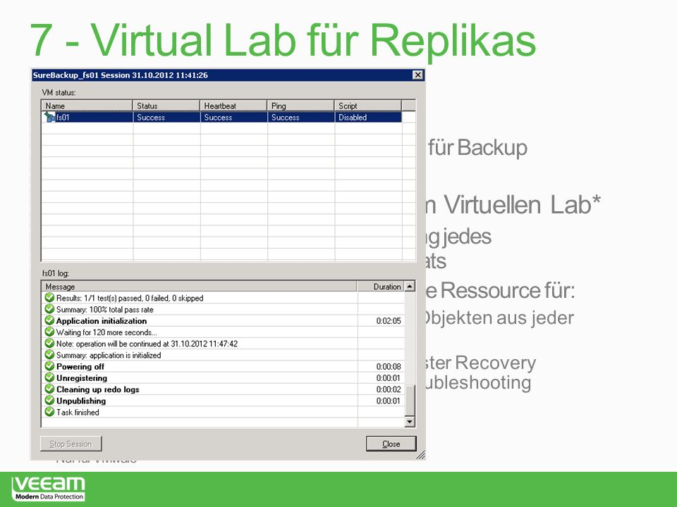 7 - Virtual Lab für Replikas