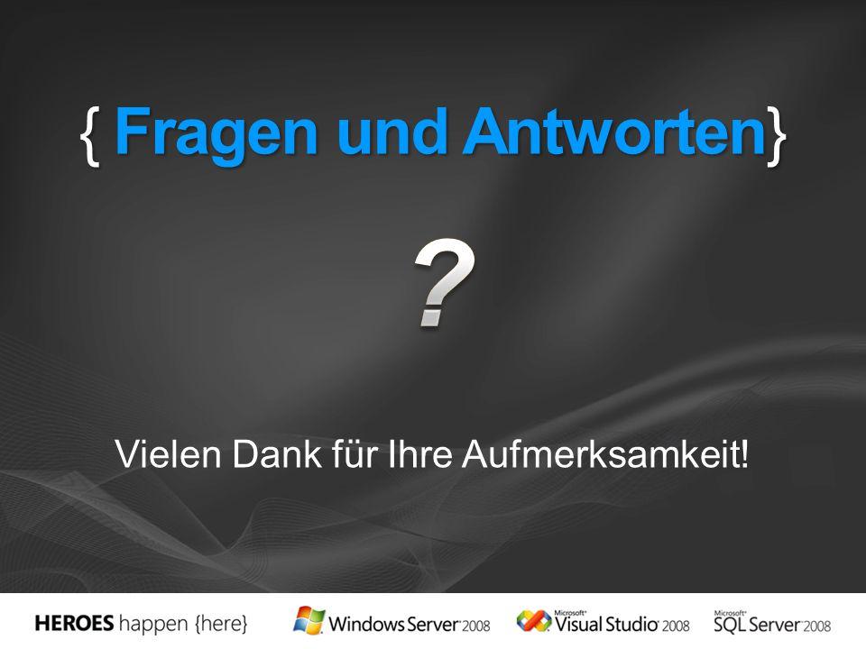 { Fragen und Antworten}