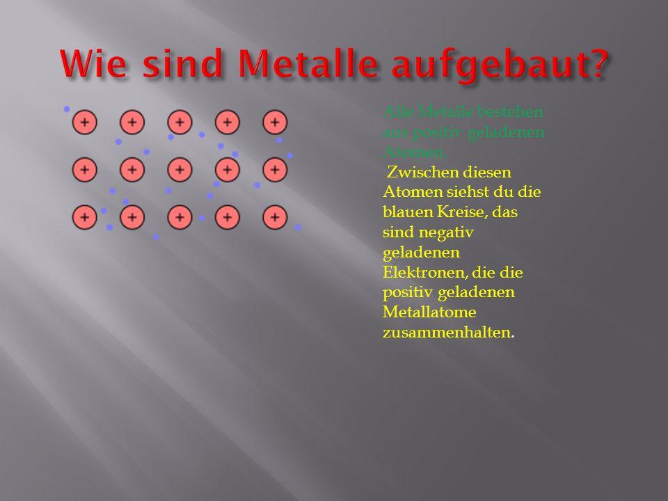 Wie sind Metalle aufgebaut