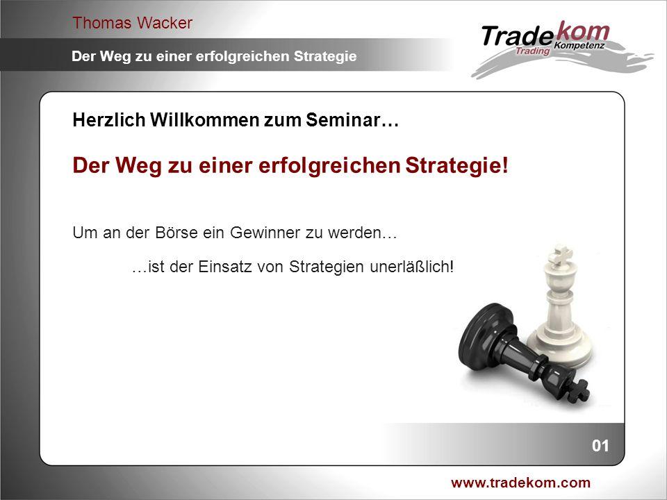 Der Weg zu einer erfolgreichen Strategie!