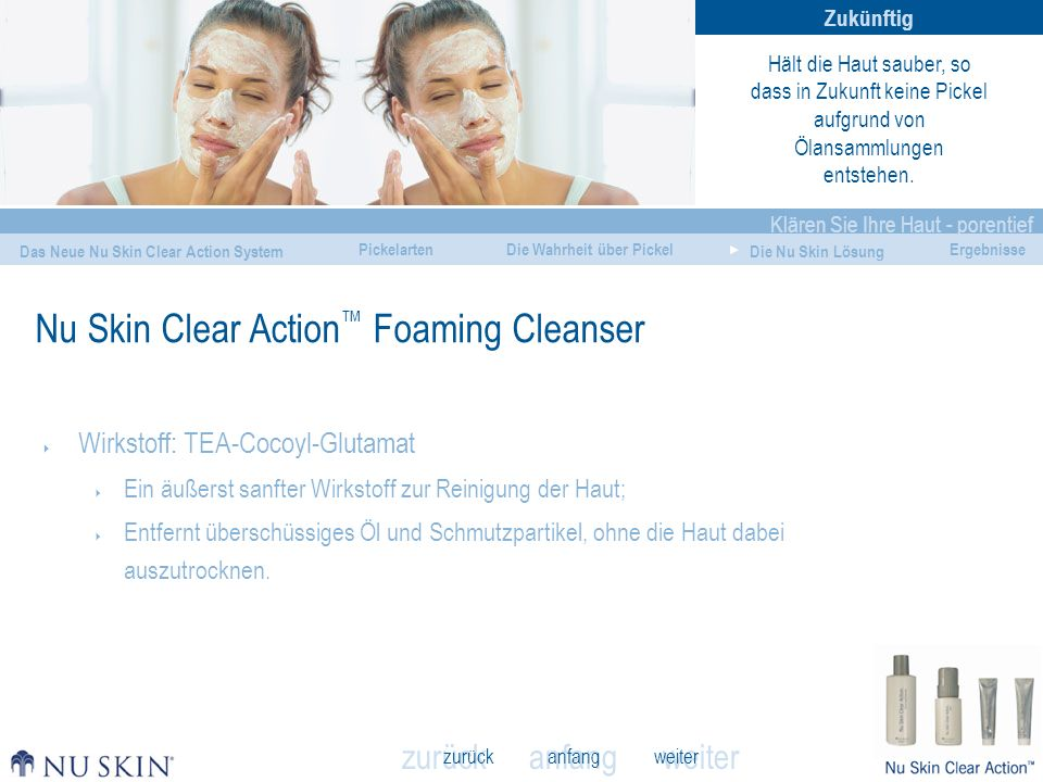 Nu Skin Clear Action™ Foaming Cleanser
