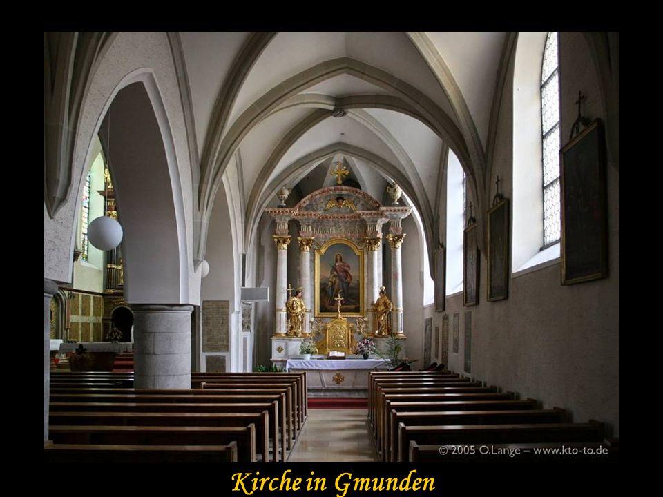 Gmunden Kirche in Gmunden