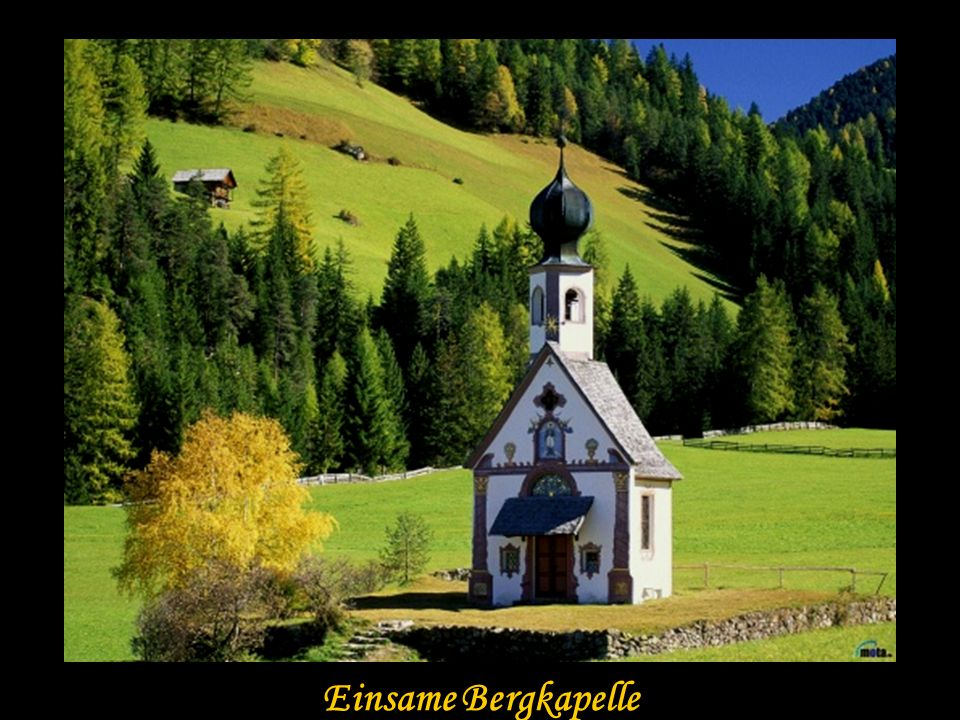 Einsame Bergkapelle Einsame Bergkapelle