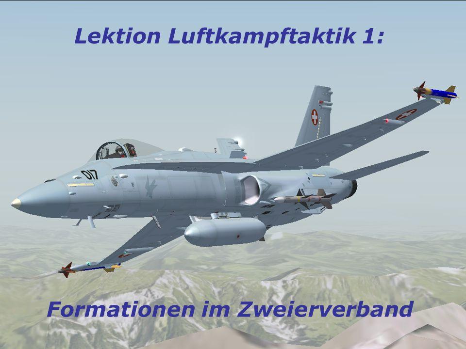 Lektion Luftkampftaktik 1: Formationen im Zweierverband