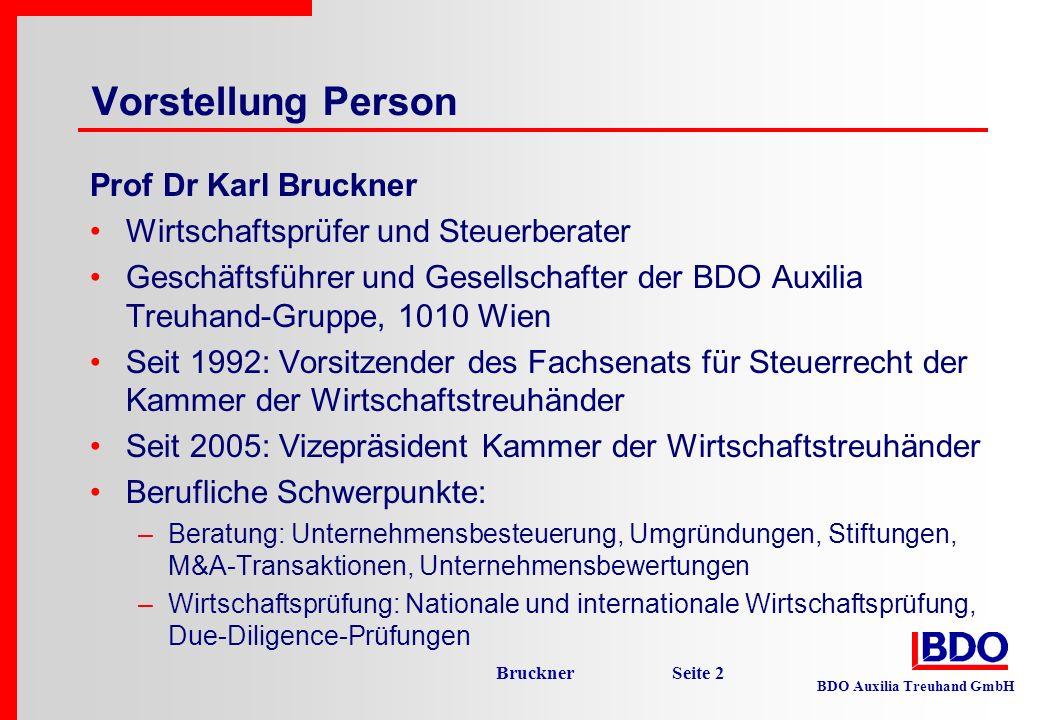 Vorstellung Person Prof Dr Karl Bruckner