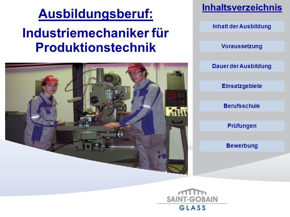 Industriemechaniker für Produktionstechnik