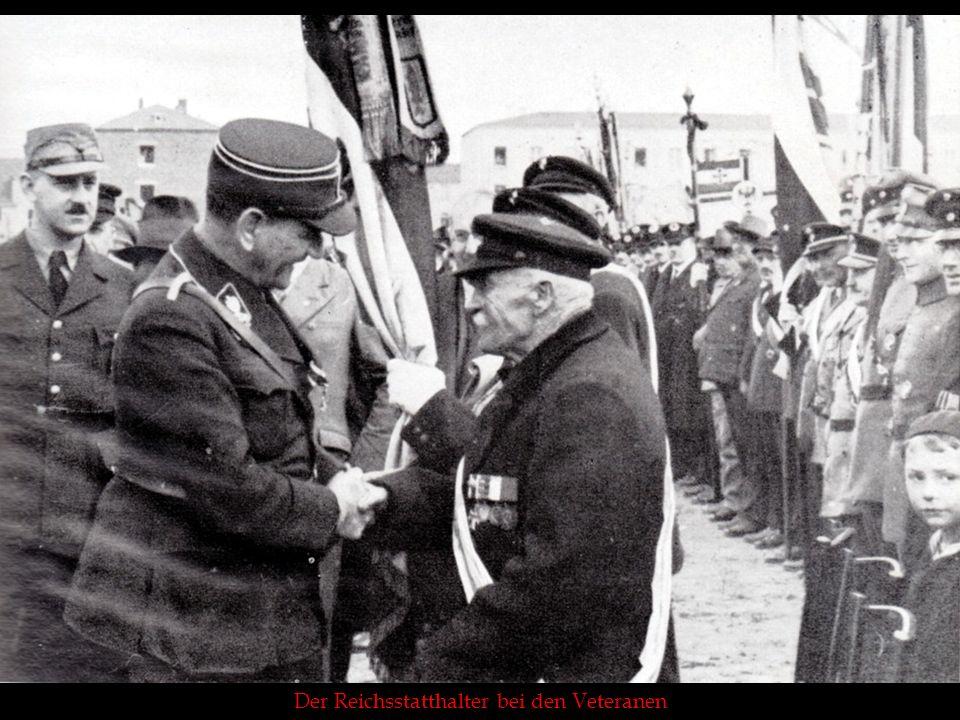Der Reichsstatthalter bei den Veteranen
