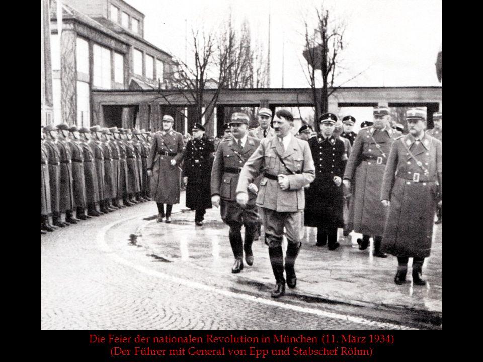 Die Feier der nationalen Revolution in München (11. März 1934)
