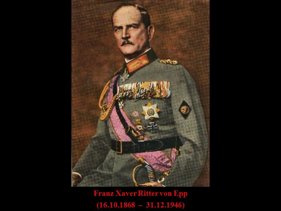 Franz Xaver Ritter von Epp