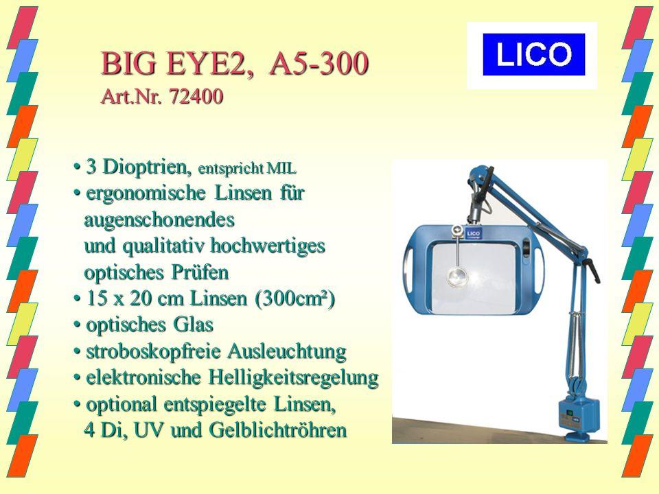 BIG EYE2, A5-300 Art.Nr. 72400 • 3 Dioptrien, entspricht MIL