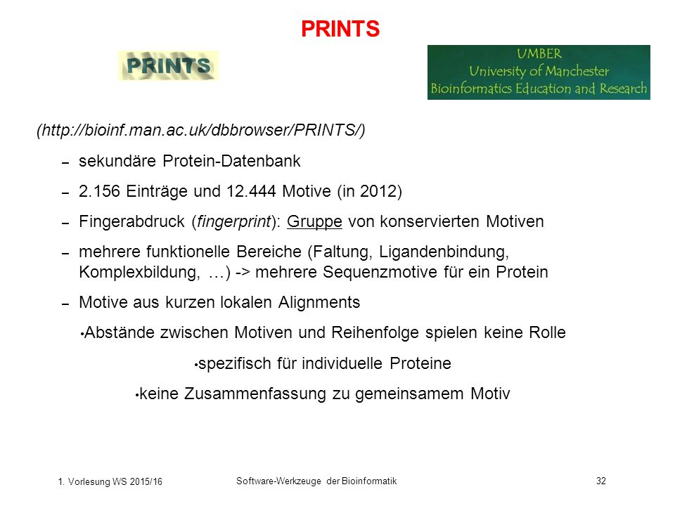 PRINTS (http://bioinf.man.ac.uk/dbbrowser/PRINTS/)
