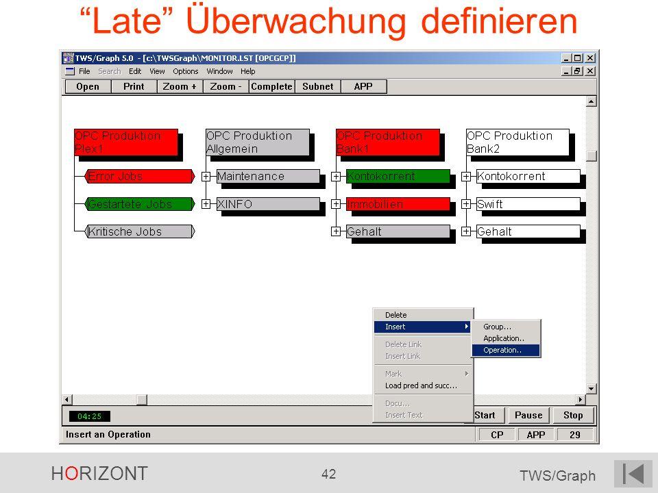 Late Überwachung definieren