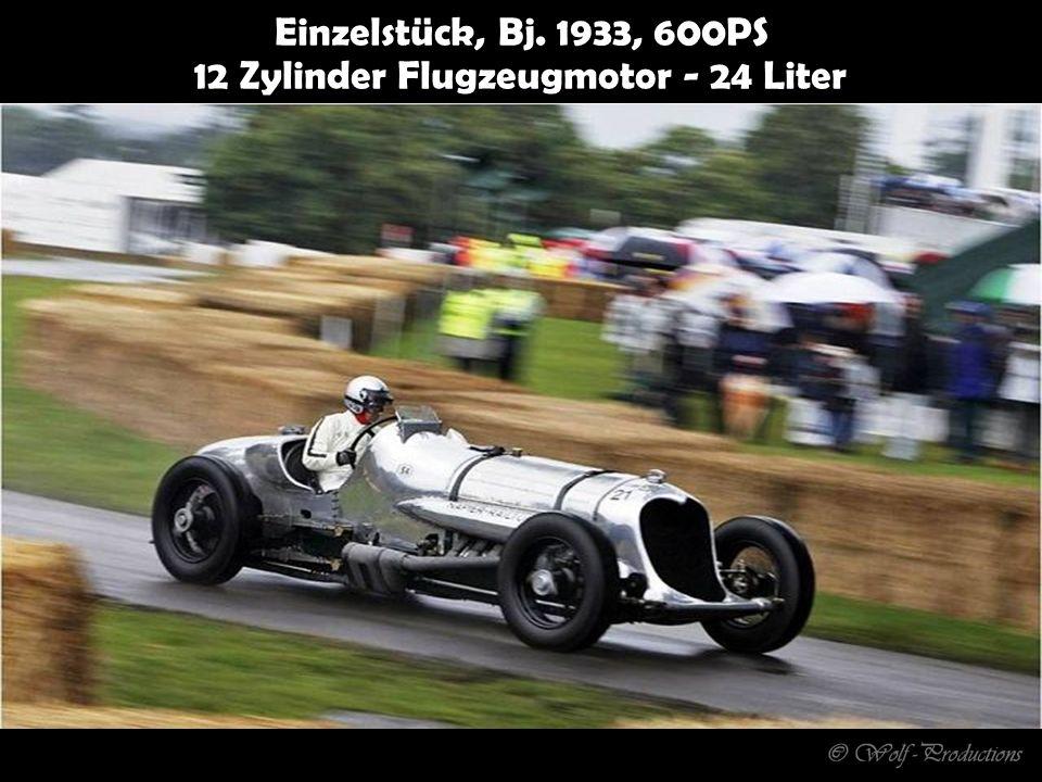 Einzelstück, Bj. 1933, 600PS 12 Zylinder Flugzeugmotor - 24 Liter