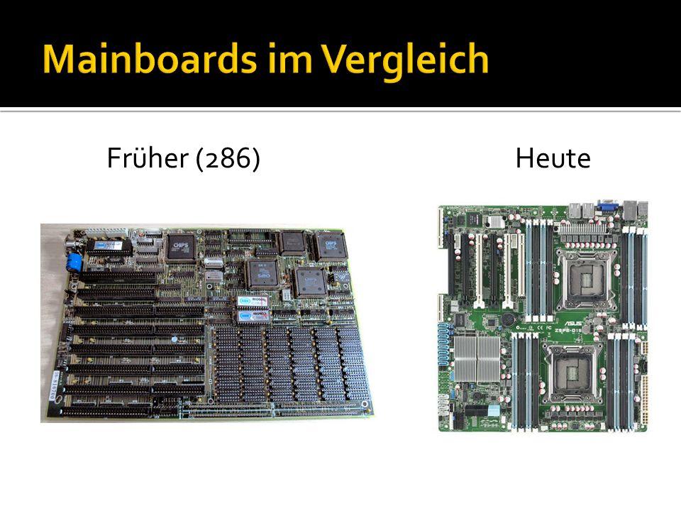 Mainboards im Vergleich