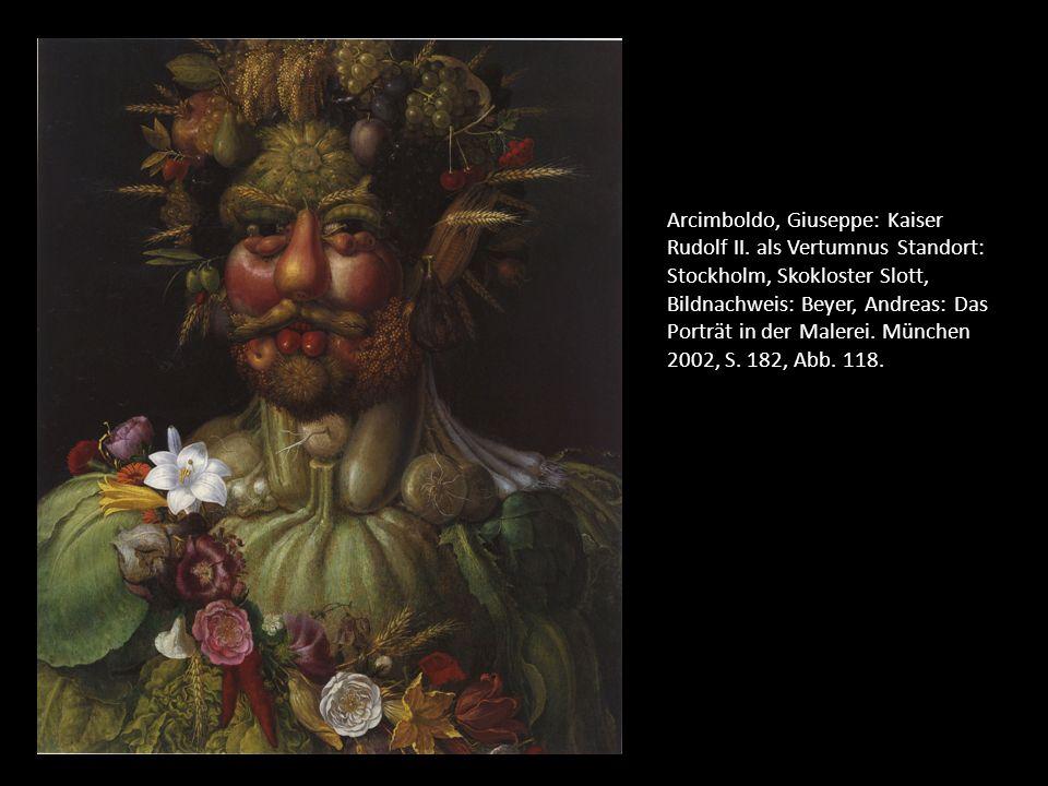 Arcimboldo, Giuseppe: Kaiser Rudolf II