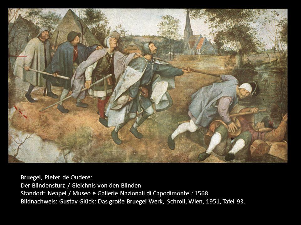 Bruegel, Pieter de Oudere:
