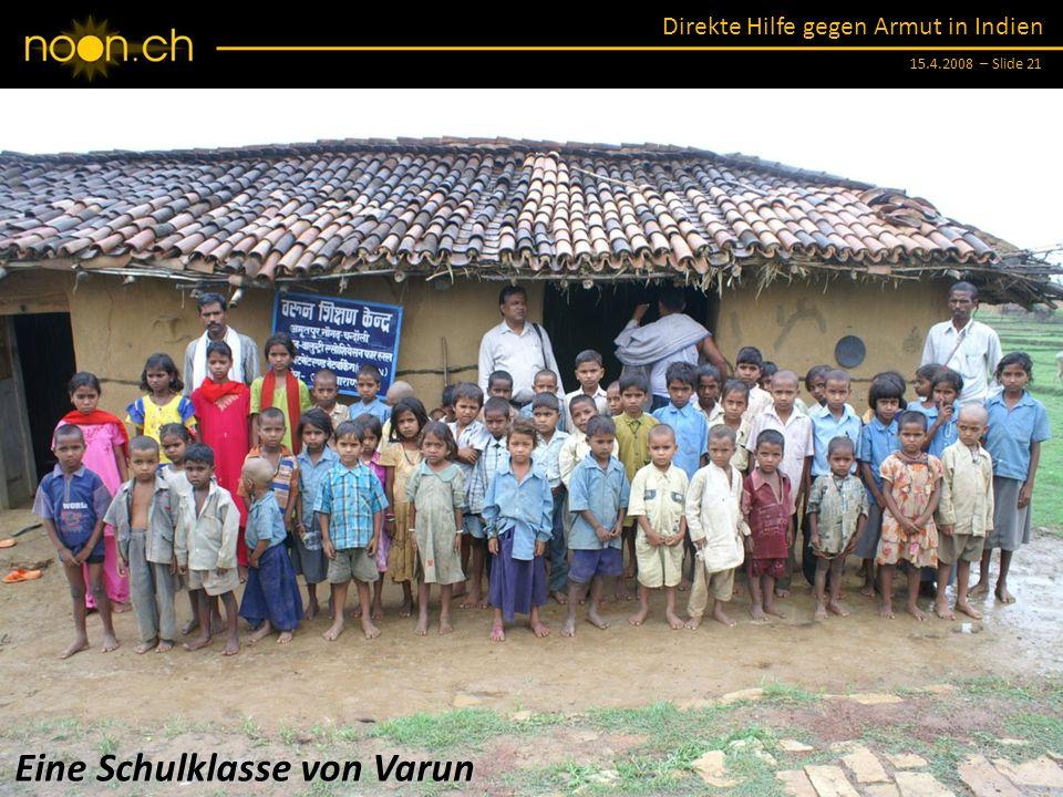 Eine Schulklasse von Varun
