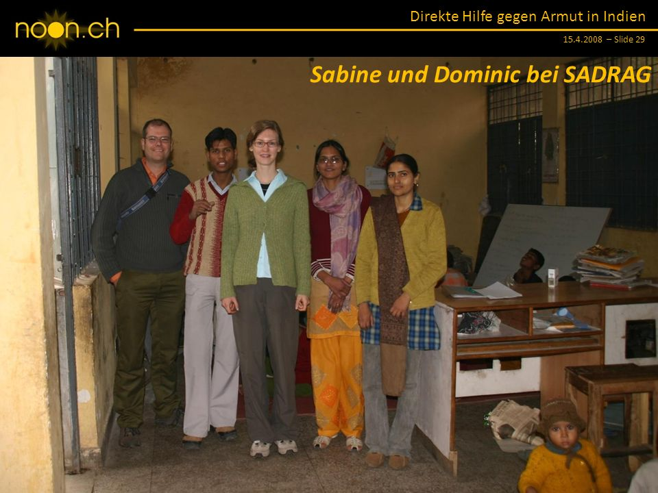Sabine und Dominic bei SADRAG