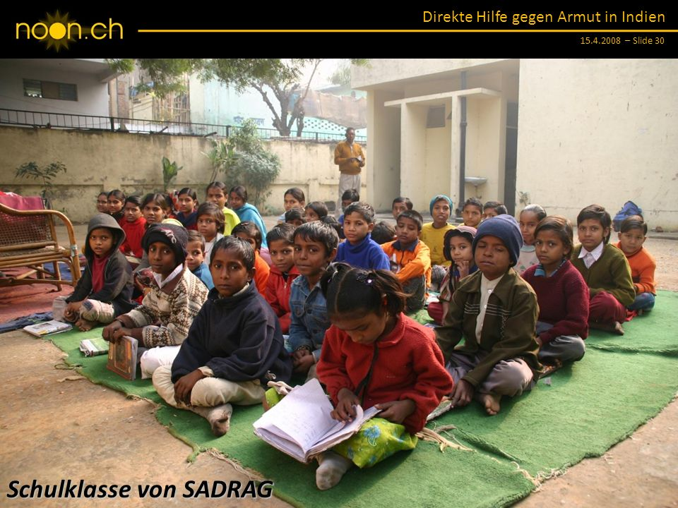 Schulklasse von SADRAG