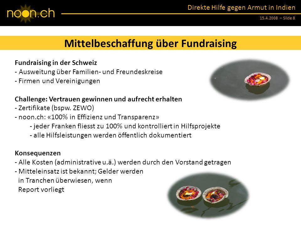Mittelbeschaffung über Fundraising