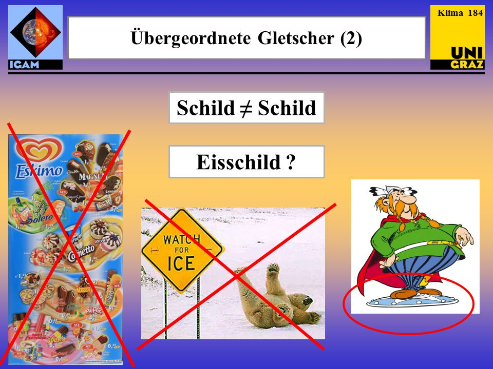 Übergeordnete Gletscher (2)