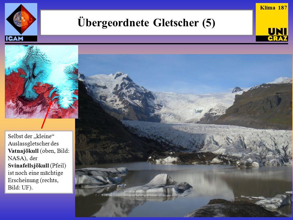 Übergeordnete Gletscher (5)
