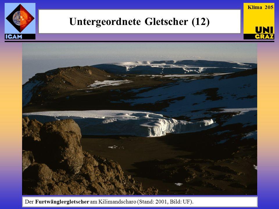 Untergeordnete Gletscher (12)