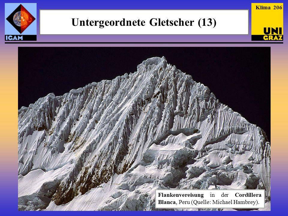 Untergeordnete Gletscher (13)
