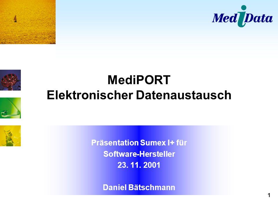 MediPORT Elektronischer Datenaustausch