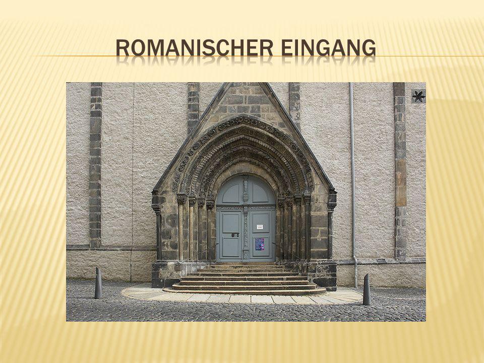 Romanischer Eingang