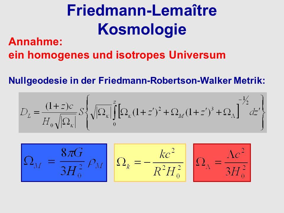 Friedmann-Lemaître Kosmologie
