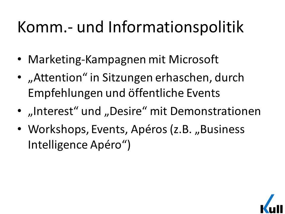 Komm.- und Informationspolitik