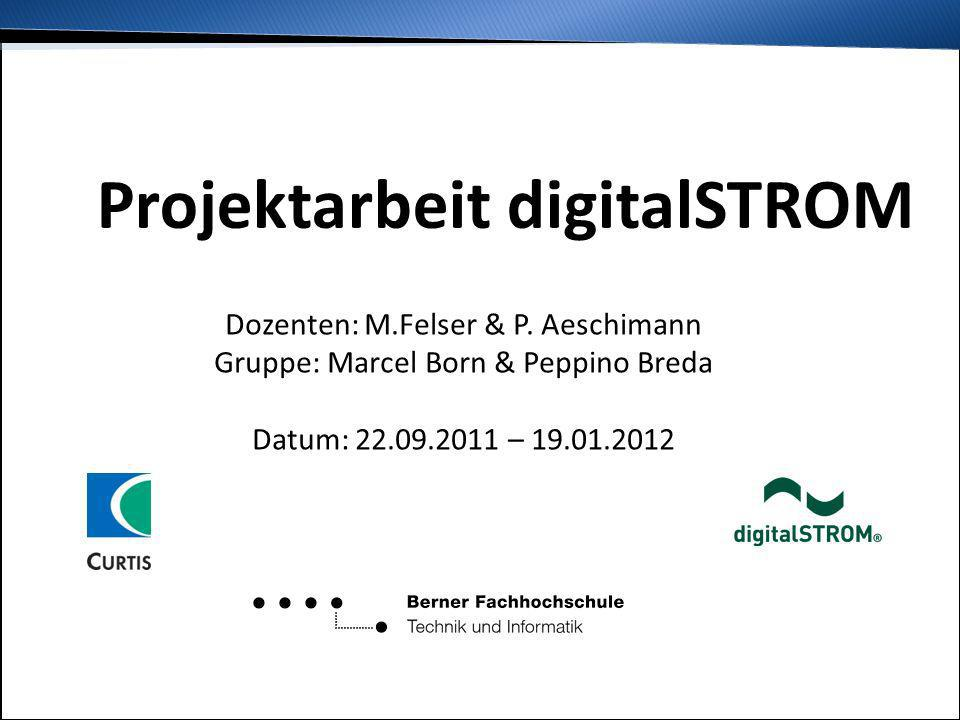Projektarbeit digitalSTROM