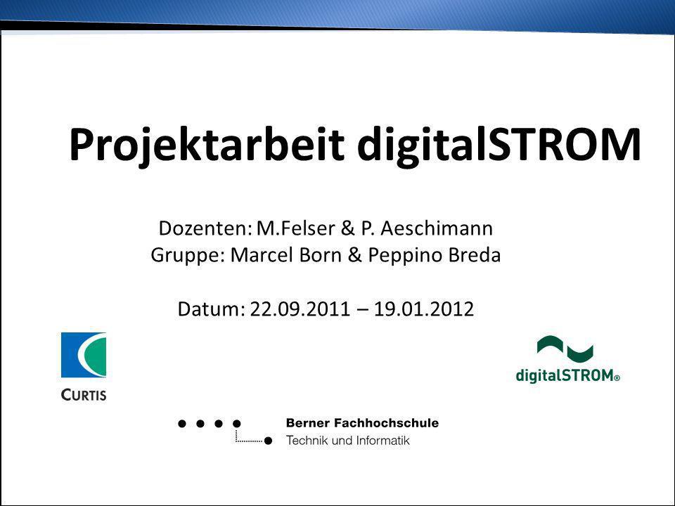 Projektarbeit digitalSTROM