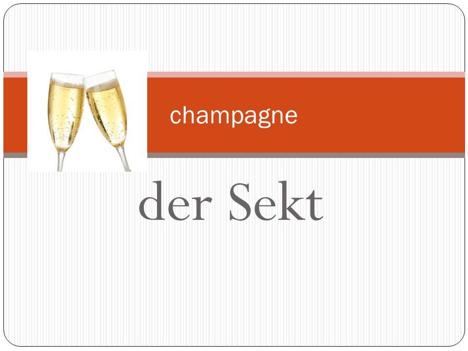 champagne der Sekt