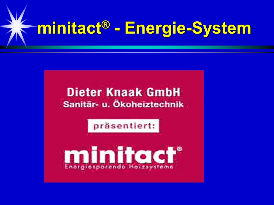 minitact® - Energie-System