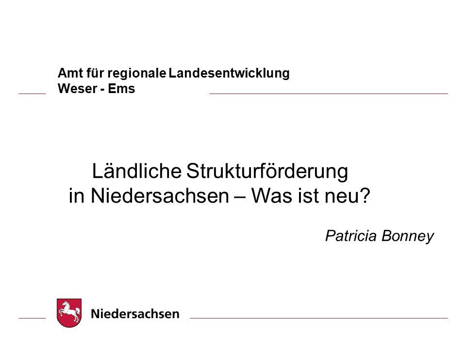 Amt für regionale Landesentwicklung Weser - Ems