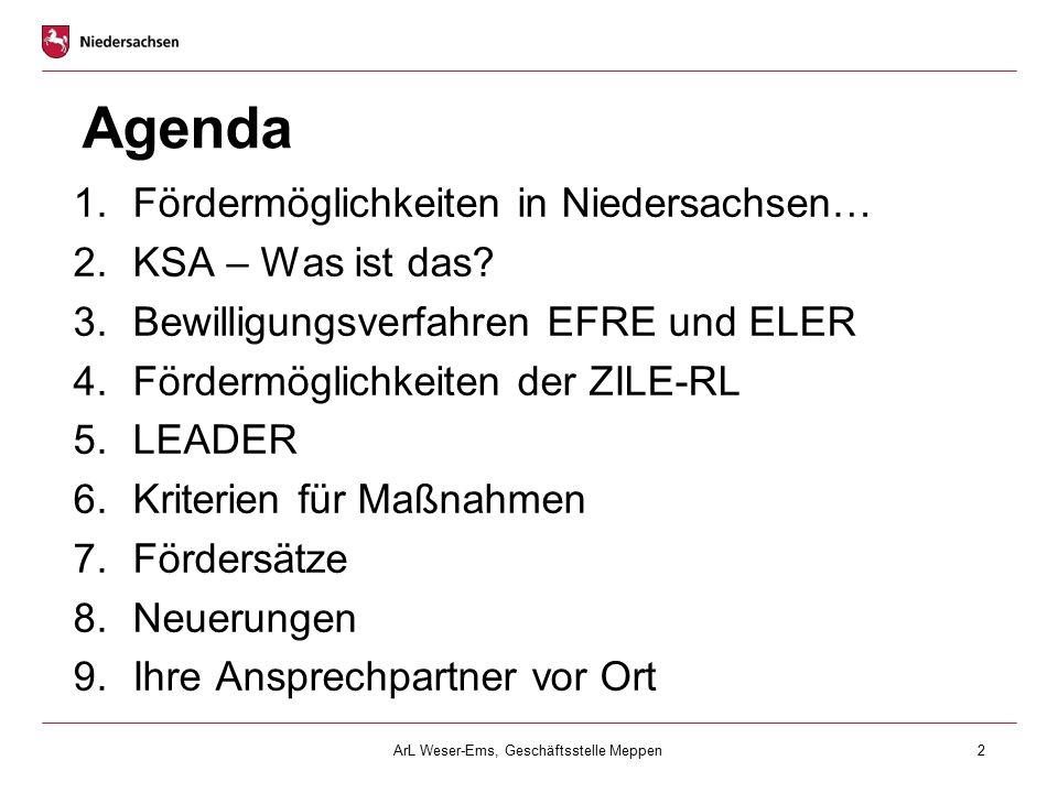 ArL Weser-Ems, Geschäftsstelle Meppen